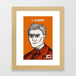 Josef Albers Framed Art Print