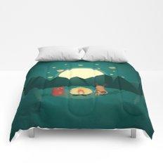 Camp Fires Comforters