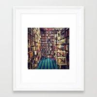 books Framed Art Prints featuring Books by Whitney Retter