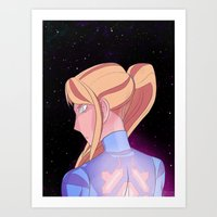Protector of the Galaxy Art Print