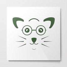 Pet design art illustration #society6 #decor #buyart #artprint Metal Print