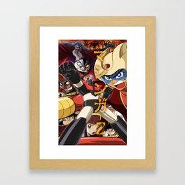 Manga 07 Framed Art Print