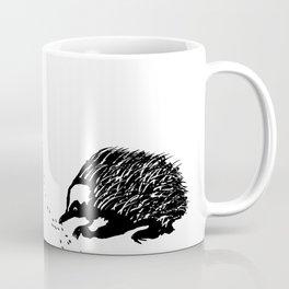 Echidna  (Tachyglossus aculeatus) Coffee Mug