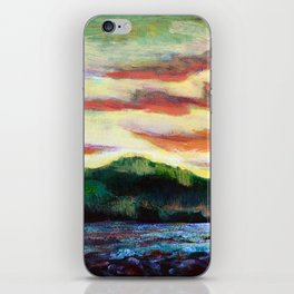 Evening Silhouette iPhone Skin