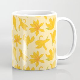 Golden flower shower Coffee Mug