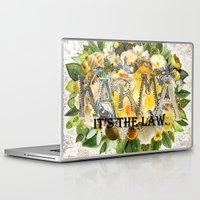 karma Laptop & iPad Skins featuring Karma by Jenndalyn