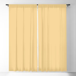 Light Canary Single Solid Color Accent Shade / Hue Matches Sherwin Williams Classical Yellow SW 2865 Blackout Curtain