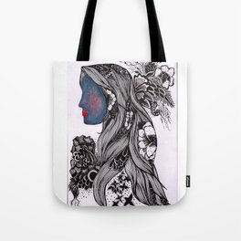 Warmth and Flowers! Tote Bag