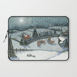 Christmas is Here Laptop Sleeve