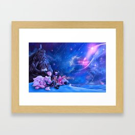 Gem Squad Framed Art Print