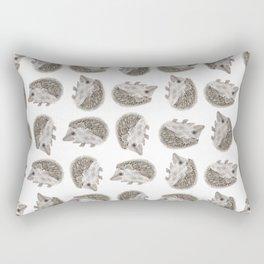 Hedgehog Jamboree Rectangular Pillow