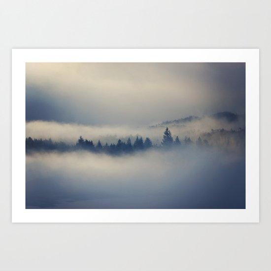 Misty Fjords Art Print