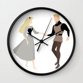 Aurora and Philip Wall Clock