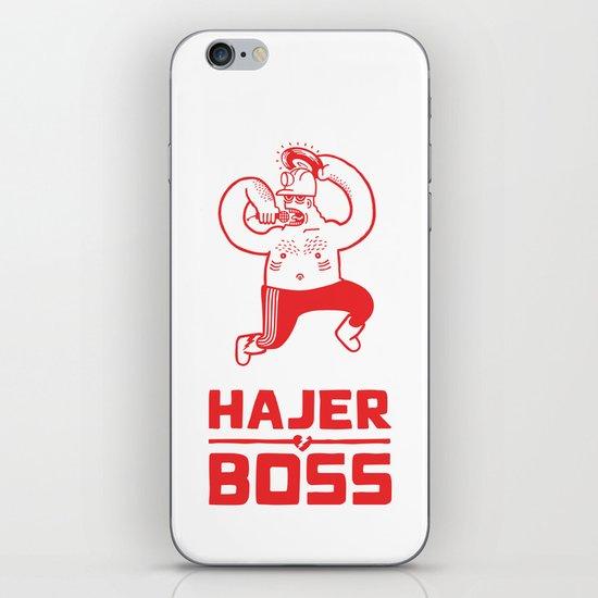 Hajer Boss iPhone Skin