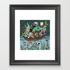 The End is Nigh! Framed Art Print