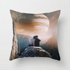 A Weird Planet Throw Pillow