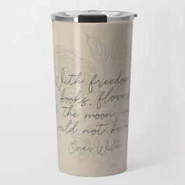 Freedom & Flowers Travel Mug