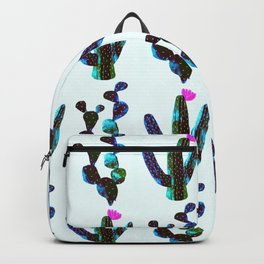 cacti watercolor Backpack