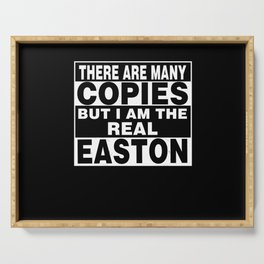 I Am Easton Funny Personal Personalized Fun Serving Tray