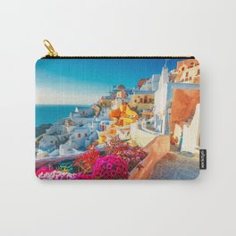 Santorini Landscape Photography Carry-All Pouch