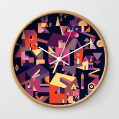 Structura 9 Wall Clock