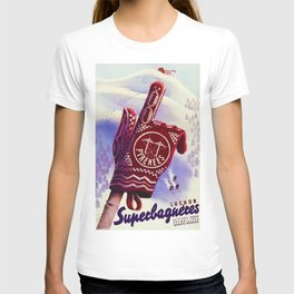 Luchon France - Vintage Ski Resort Travel T-shirt