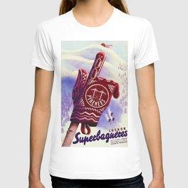 Luchon France - Vintage Ski Resort Travel T-shirt