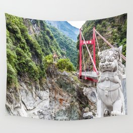 Frog Rock Wall Tapestry