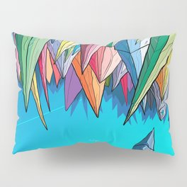 Icebergs Pillow Sham