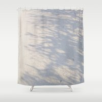 shadow Shower Curtains featuring Shadow by Rose Etiennette