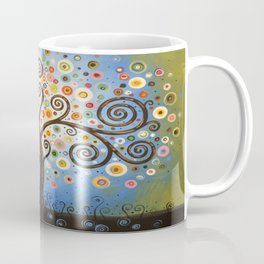 Abstract Art Landscape Original Painting ... Twilight Dreams Coffee Mug