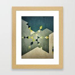Shape_01 Framed Art Print