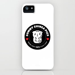 Bubu and Moonch, Gummy Guinea Pigs  iPhone Case