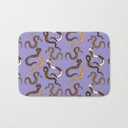Plenty of Pythons - Lavender Bath Mat