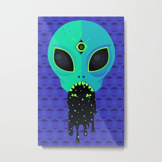 Alien Flu Metal Print