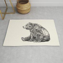 Bear // Graphite Rug