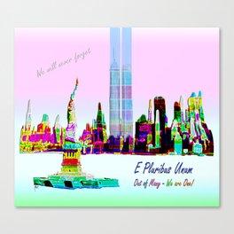 911 - E Pluribus Unum Canvas Print
