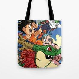 Kids and the Dragon Tote Bag