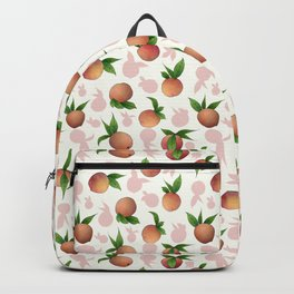 Peachy Keen Peaches and Cream Backpack