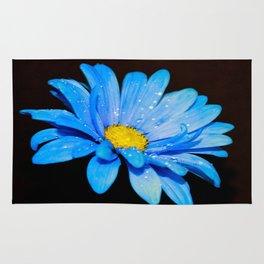 Blue Daisy Rug
