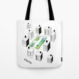 The Vegetable Garden Tote Bag