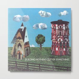 Modest Mouse - Building Nothing Out Of Something (Cover Open) Metal Print