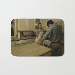 Table for 2 Bath Mat