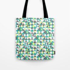 scribble triangles Tote Bag