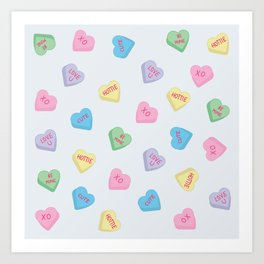 candies of the heart Art Print