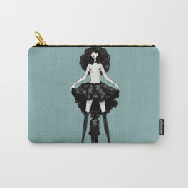 My mind wears heels Carry-All Pouch