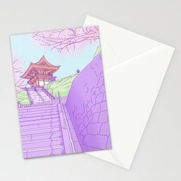 Everyday places in Japan Stationery Cards