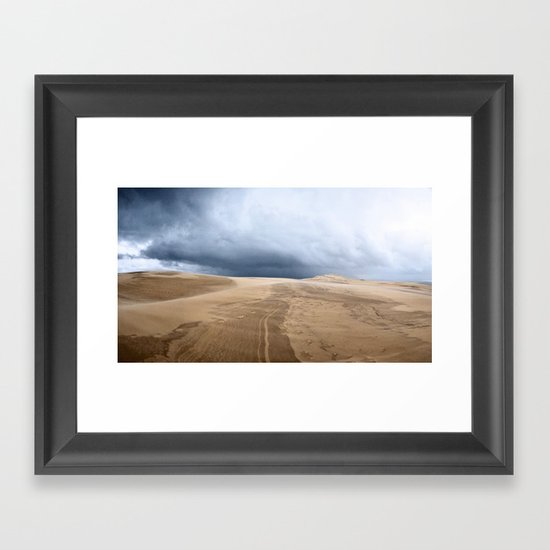 Another kind of sea Framed Art Print
