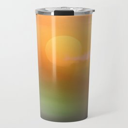 Sunrise  and sky. Travel Mug