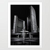 Toronto City Hall No 7 Art Print